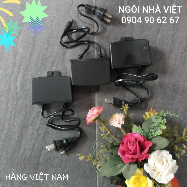 Nguồn (Adapter) 12V 2A [CS: 12W] chân lớn, móc treo, chống mưa (hàng 100% VIỆT NAM)
