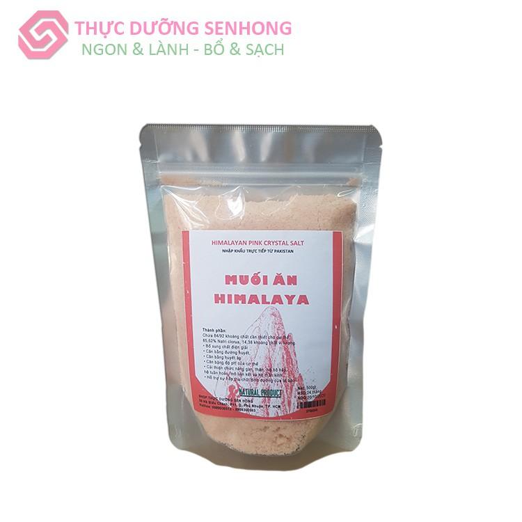 Muối ăn Himalaya (500gr) Muối hồng Himalaya