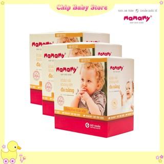 (Combo 3 hộp) Khăn Khô Đa Năng Mamamy 180 tờ