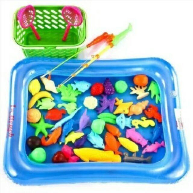 Bộ đồ chơi câu cá kèm phao cho bé giá rẻ - 3217490 , 422320178 , 322_422320178 , 69000 , Bo-do-choi-cau-ca-kem-phao-cho-be-gia-re-322_422320178 , shopee.vn , Bộ đồ chơi câu cá kèm phao cho bé giá rẻ