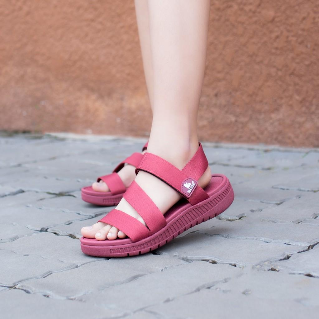 Giày sandal nữ Facota V1 Sport HA12 chính hãng sandal nữ quai dù sandal nữ đi học