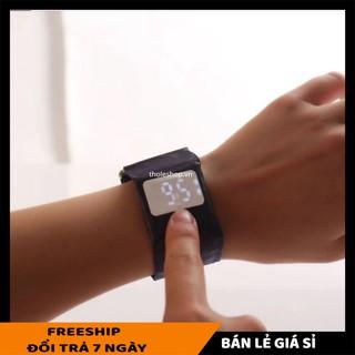 Đồng hồ giấy độc lạSALE ️Đồng hồ nam nữ Led điện tử bằng giấy chống nước, thông minh, thời trang 8226