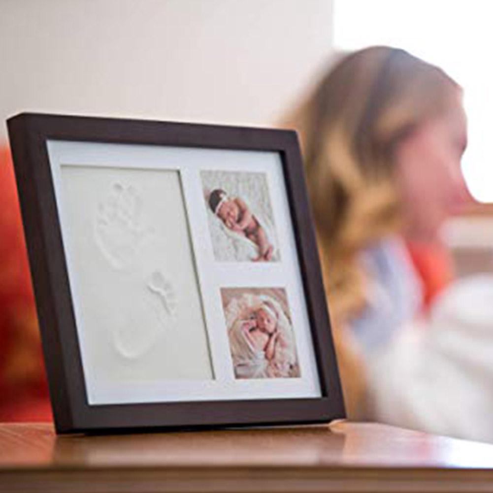 Baby Footprint Casting Imprint Handprint Kit Souvenirs Gifts Non-toxic Infant