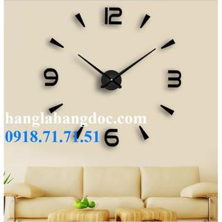 Đồng hồ dán tường loại to (1,5m đường kính) mẫu số 7 (DIY Sicker Clock version 7)