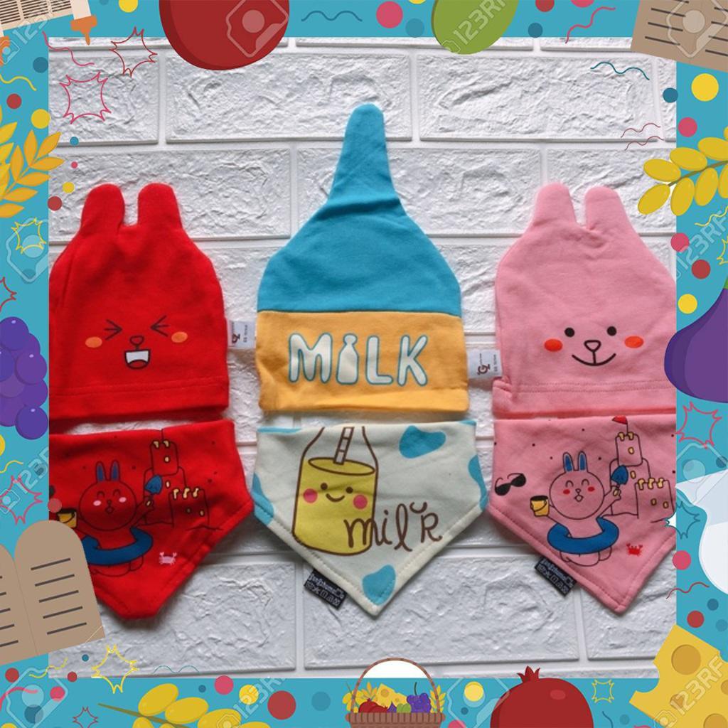 [ hàng tốt - giá tốt] ❤️❤️❤️ Mũ kèm khăn cotton cho bé xinh yêu hết nấc❤️❤️❤️ - 15147347 , 2626115738 , 322_2626115738 , 63700 , -hang-tot-gia-tot-Mu-kem-khan-cotton-cho-be-xinh-yeu-het-nac-322_2626115738 , shopee.vn , [ hàng tốt - giá tốt] ❤️❤️❤️ Mũ kèm khăn cotton cho bé xinh yêu hết nấc❤️❤️❤️