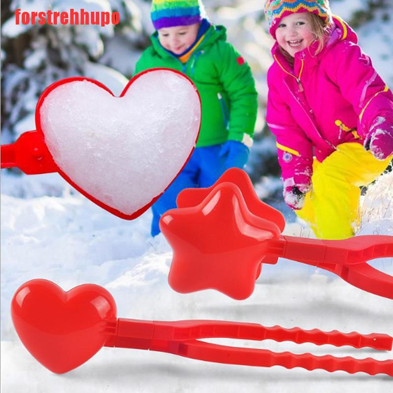 {forstrehhupo}Snowball Maker Clip Kids Outdoor Sand Snow Ball Mold Toys Fight Toy for Childre UUT