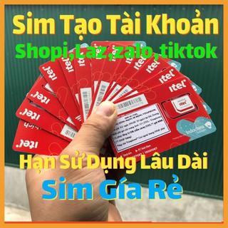 Sim Itelecom – Sim Itel Rác Lập Shope,Gmail,Fb,Zalo,Tiktok,Laz,Be…. Hạn Sử Dụng Dài, Nuôi Tài Khoản Lâu Dài Itelecom