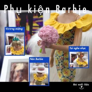 Phụ kiện búp bê Barbie chính hãng. Cài tóc chính hãng cho búp bê barbie. Mã Pk A