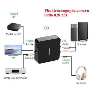 Bộ chuyển đổi Quang sang Audio chính hãng Ugreen 30523