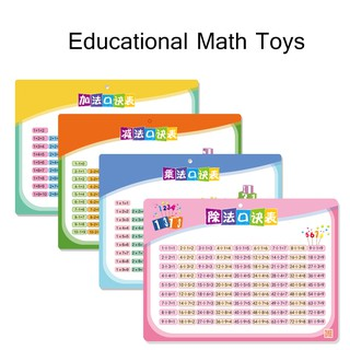 Children Math Table Math Toys Kids Early learning Educational Toys Xmas Gifts