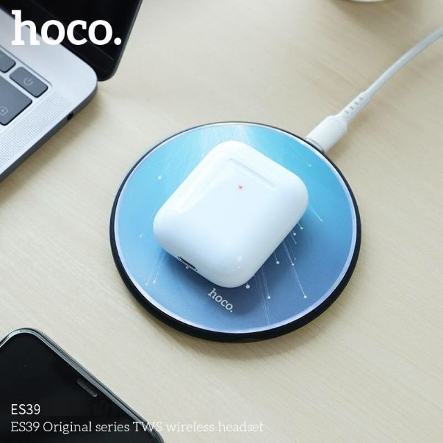 Tai nghe bluetooth true wireless Hoco Es39 series 5 xịn sò nghe nhạc hay bảo hành 12t