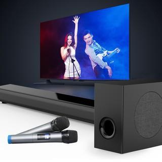 Loa Soundbar + Trầm 5.1 Bluetooth Hát Karaoke AMOI L5 Tặng 02 Micro Không Dây Cao Cấp (nhập khẩu)