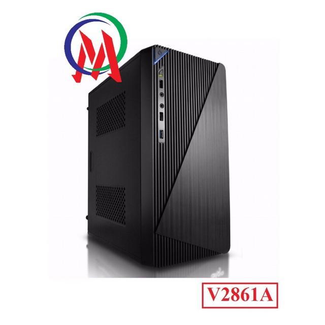 [Nhập ELCLMAY hoàn 30K xu đơn từ 200K]Vỏ Case máy tính VSP V2861A Giá chỉ 165.000₫
