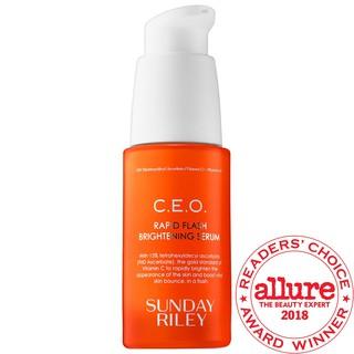 SUNDAY RILEY  Serum dưỡng sáng da mờ thâm C.E.O. 15% Vitamin C Brightening Serum
