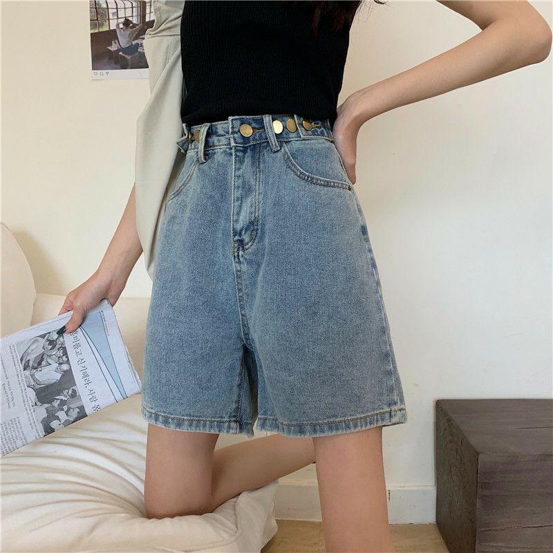 Quần Short jean nữ chất bò trơn mềm xinh xắn