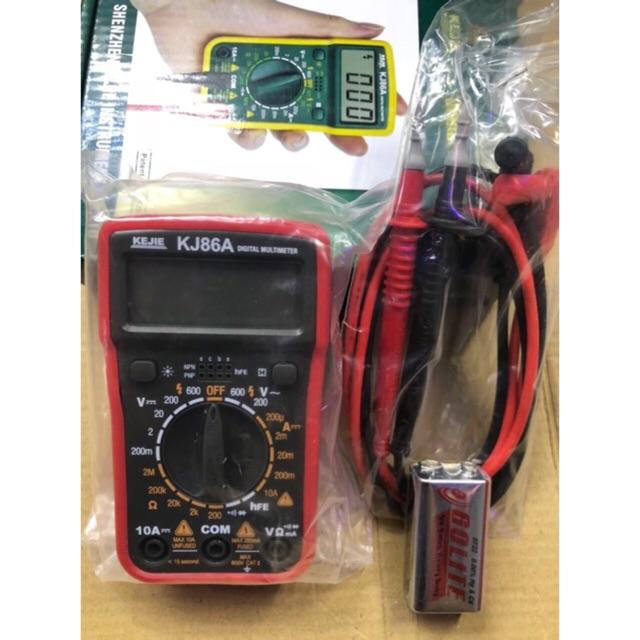 Đồng hồ đo vạn năng KeJie KJ86A - 3389256 , 1071396615 , 322_1071396615 , 168000 , Dong-ho-do-van-nang-KeJie-KJ86A-322_1071396615 , shopee.vn , Đồng hồ đo vạn năng KeJie KJ86A