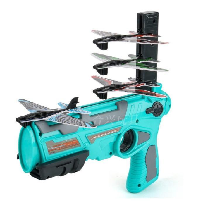 Súng bắn máy bay có bọt đồ chơi cho trẻ em
