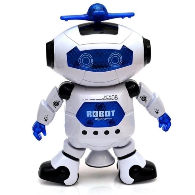Rô bốt thông minh xoay 360 độ phát sáng, phát nhạc - 3542025 , 1312453065 , 322_1312453065 , 144000 , Ro-bot-thong-minh-xoay-360-do-phat-sang-phat-nhac-322_1312453065 , shopee.vn , Rô bốt thông minh xoay 360 độ phát sáng, phát nhạc