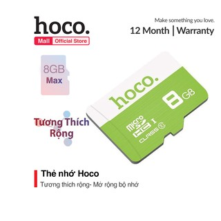 Thẻ nhớ Hoco tốc độ cao 8GB TF micro-SD thumbnail