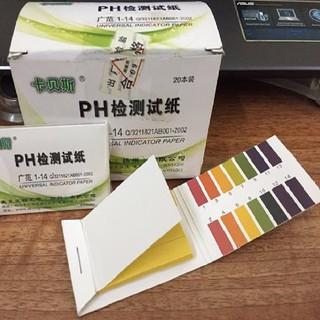 Quỳ Tím Đo pH Thang 1 -14 Gồm 80 Tập Sử Dụng Cho Thí Nghiệm, Đo Nước Ối thumbnail