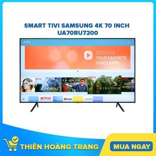 [HCM] Smart Tivi Samsung 4K 70 inch 70RU7200 – Bảo hành chính hãng 24 tháng