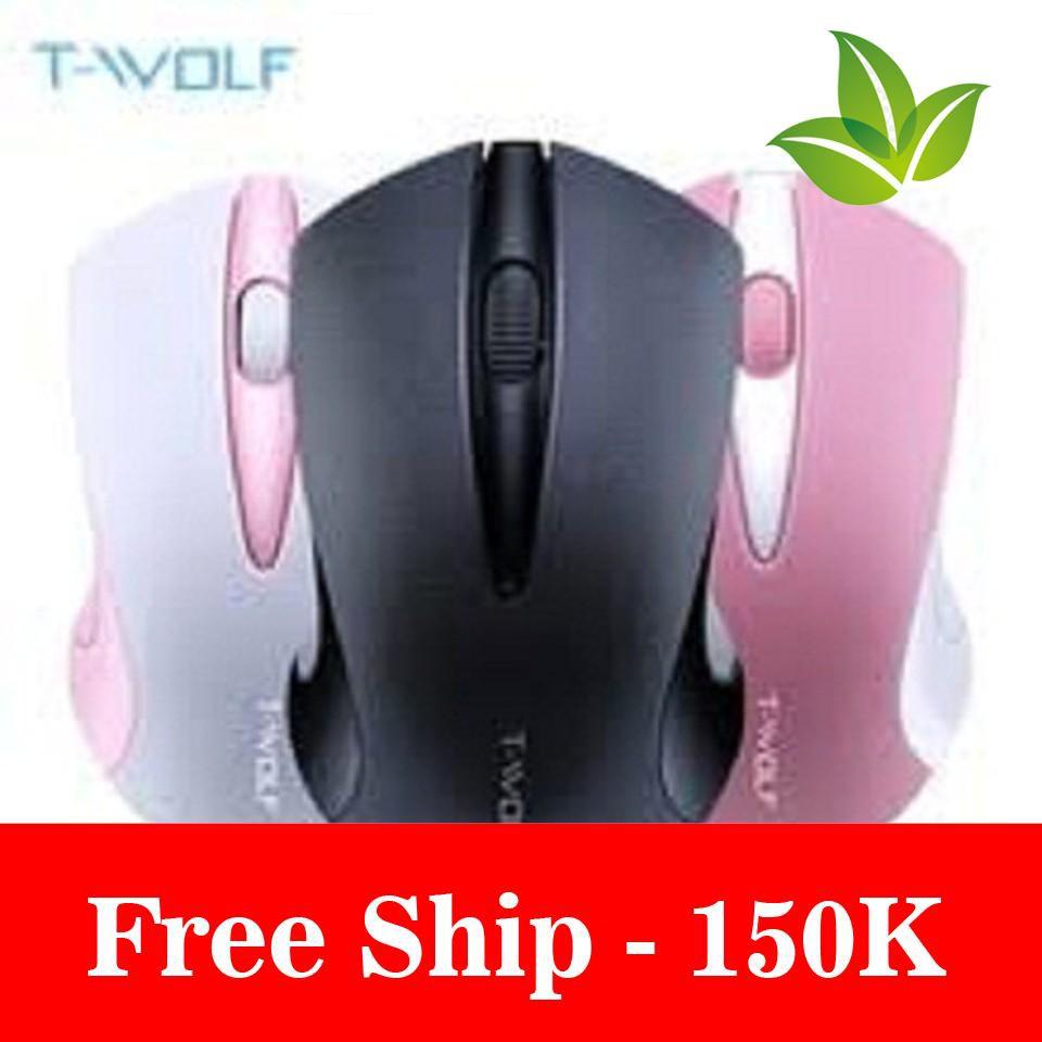 Freeship Chuột không dây T-WOLF Q2 Giá chỉ 176.000₫