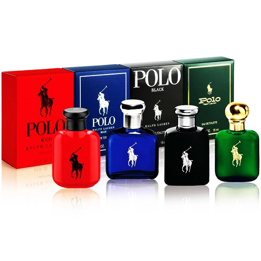 Bộ 4 nước hoa nam mini RALPH LAUREN Polo EDT 4 x 15ml
