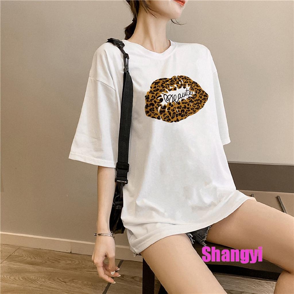 áo thun ngắn tay form rộng phong cách hàn quốc dành cho nam và nữ