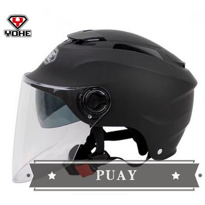 Eternal helmet electric motorcycle helmet double lens summer