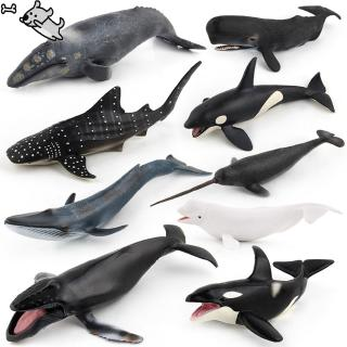 Simulate Whale Animal Modeling Educational Toy for Kids Rome Decoration