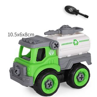 Xe đồ chơi mô hình ô tô tháo lắp dễ dàng hiệu Híp s Toys MODEL 996D bằng nhựa 4