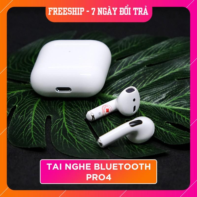 Tai nghe Blutooth Không dây Inpod Pro 4  True Wireless Công Nghệ 5.0 Kèm Đốc Sạc ,Cảm Biến Tự Động Kết Nối