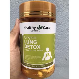 Viên uống thải độc phổi Lung detox healthy care
