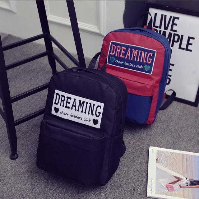 Balo vải bố thời trang DREAMING - vừa A4
