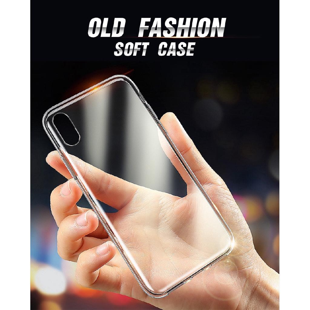 Ốp lưng trong suốt siêu mỏng dành cho iPhone SE 2020 11 Pro XS MAX XR 5 5S 6 6S 7 8 Plus 6P