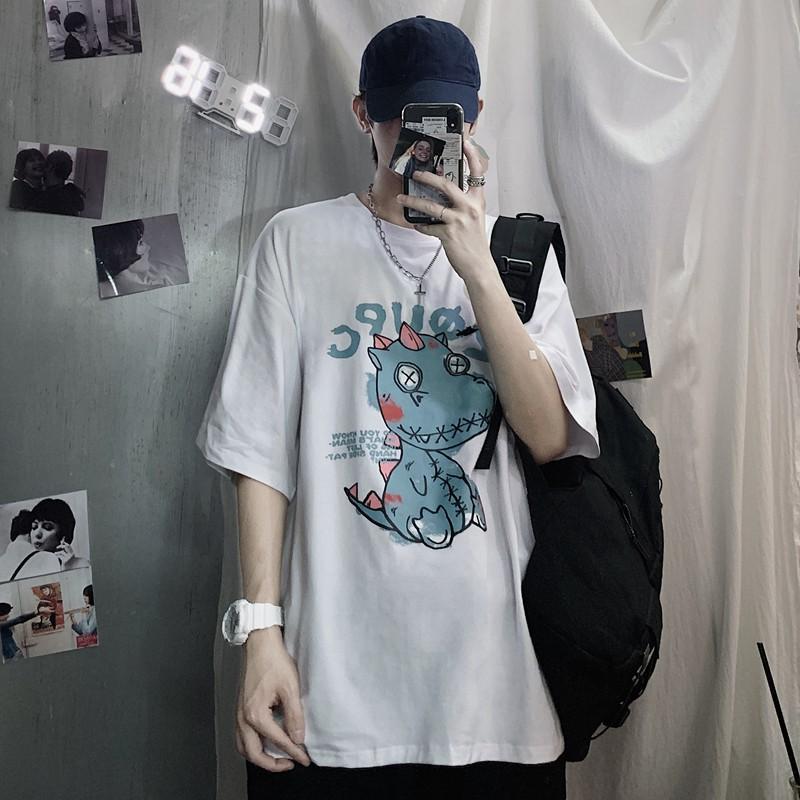 Áo thun tay lỡ Unisex Yinxx, áo phông form rộng ATL138
