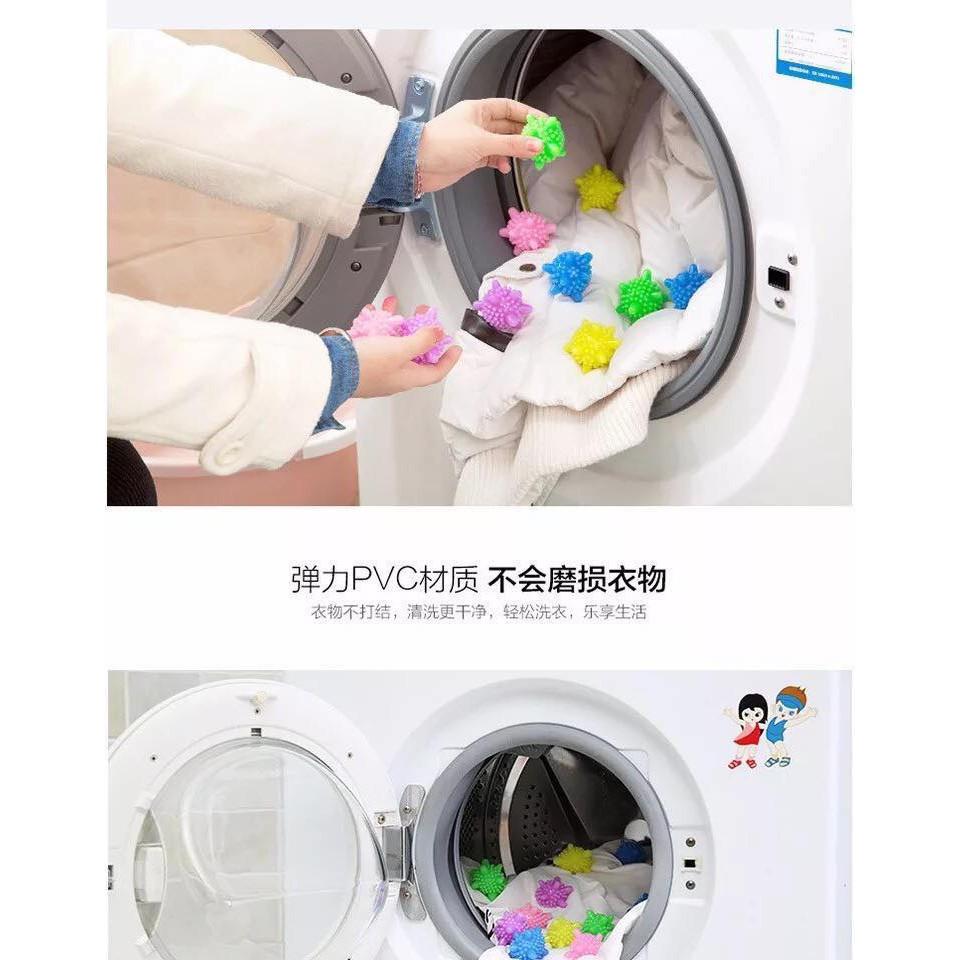 Set 5 quả bóng gai giặt quần áo