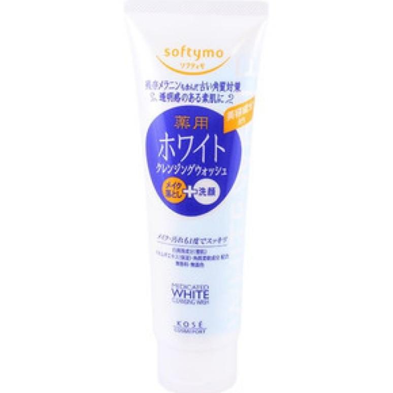 Sữa rửa mặt Kose Softymo White 220g - 3151755 , 958626239 , 322_958626239 , 95000 , Sua-rua-mat-Kose-Softymo-White-220g-322_958626239 , shopee.vn , Sữa rửa mặt Kose Softymo White 220g