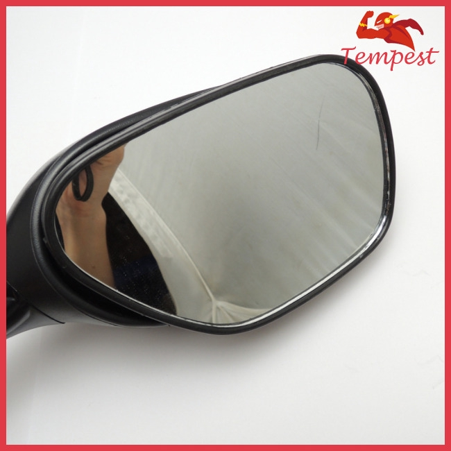 Motorcycle Rearview Side Mirrors for Suzuki GSXR 600 750 1000 with Turn Signal Light