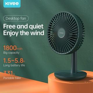 [Mã khuyến mãi KIVE20215 Giảm 15% toàn cửa hàng]Quạt máy tính để bàn Kivee FA08 USB Mini Hỗ trợ tiếng ồn thấp Bộ lưu trữ điện