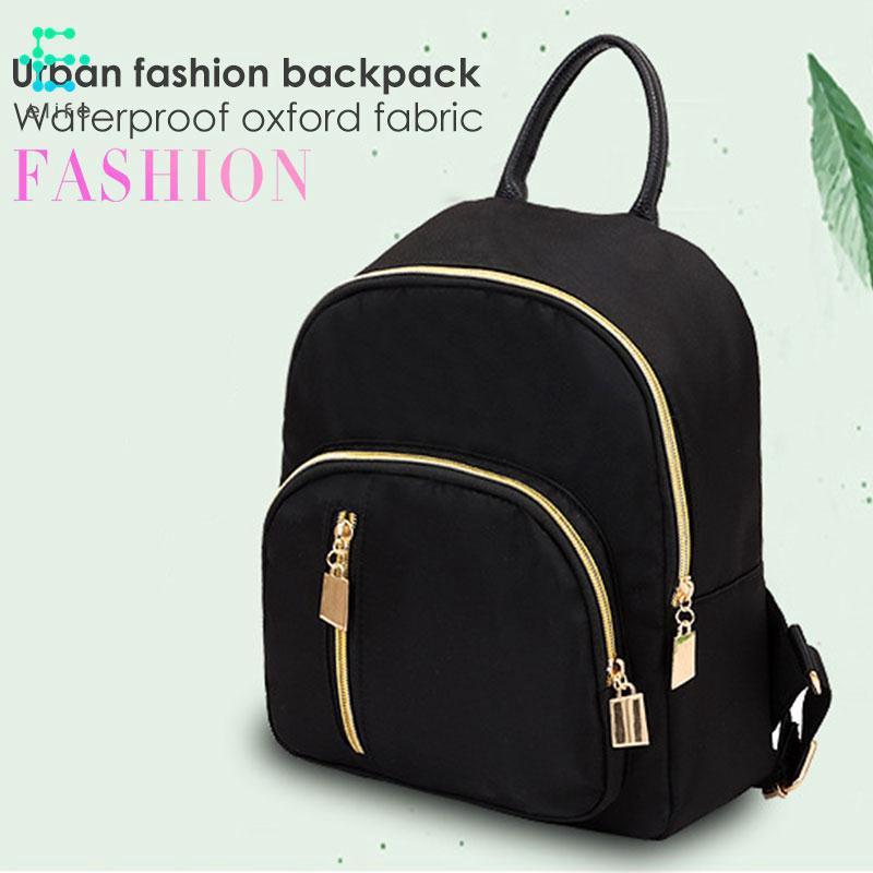 EL Shoulder Bag Women'S Bags Tassel Shoulder Bag Oxford Cloth Black Day Bag Mini