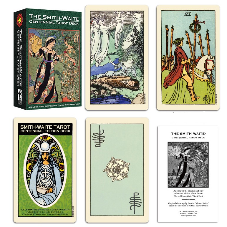 Bộ Bài Tarot The Smith-Waite Tarot Centennial Edition Pamela ...