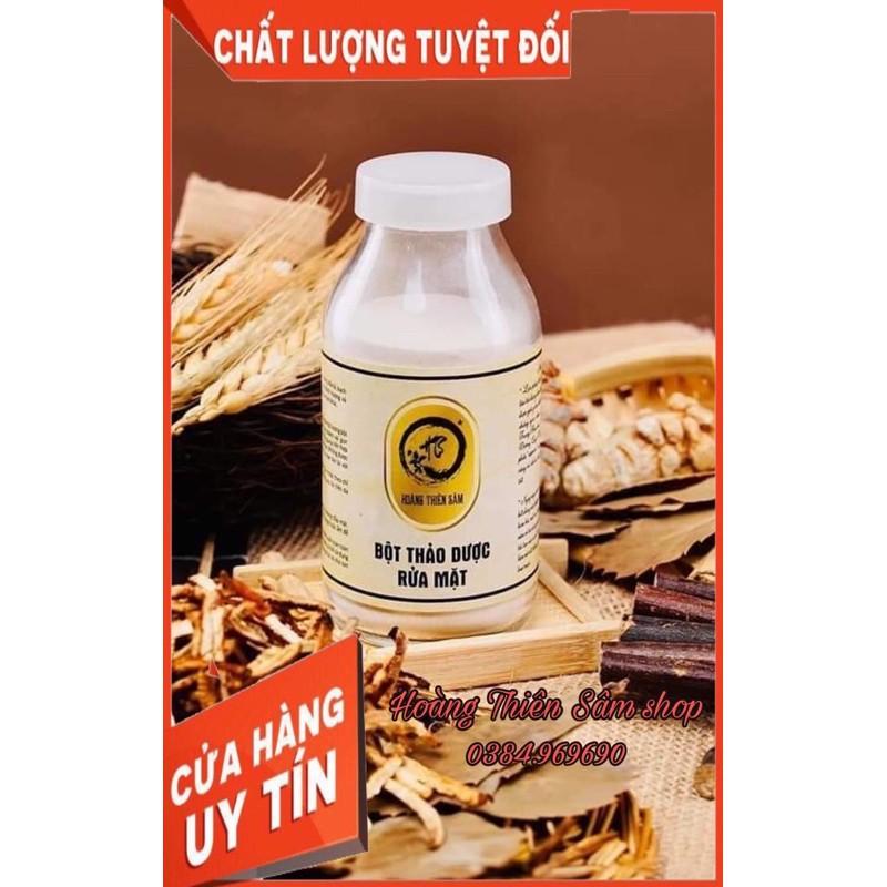 Bột rửa mặt Hoàng Thiên Sâm⚡Free-Ship⚡ giúp da căng mịn, trắng hồng và trẻ hóa