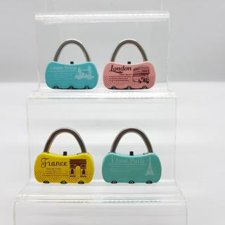Khóa_Real Khóa số vali, cặp táp, túi xách 30mm hình giỏ xách siêu dễ thương R thumbnail