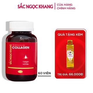 Collagen Sắc Ngọc Khang thế hệ mới 100% từ Nhật Bản [Hộp 60 viên] thumbnail