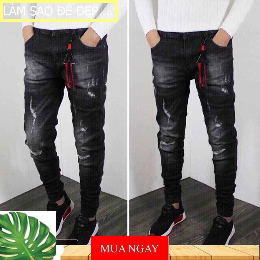 mẫu quần jean nam đẹp Co Giãn Không Phai Màu ,quần jean nam chất nhất