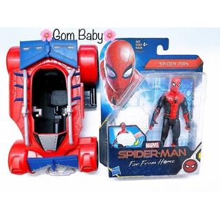 Xe Mô Hình Người Nhện Spiderman Nobox thumbnail