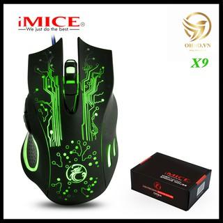 Chuột Gaming Mouse Imice X9 Chuột Máy Tính Có Dây Cho Game Thủ Chuột Laptop Gaming Vi Tính Chơi Game OHNO Việt Nam thumbnail