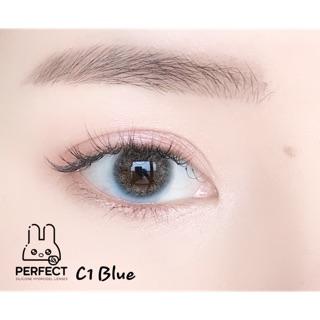 Link 1 (Giá 1 Chiếc) 14.0 (0.00 - 8.00) Lens C1 Blue - Kính Áp Tròng thumbnail