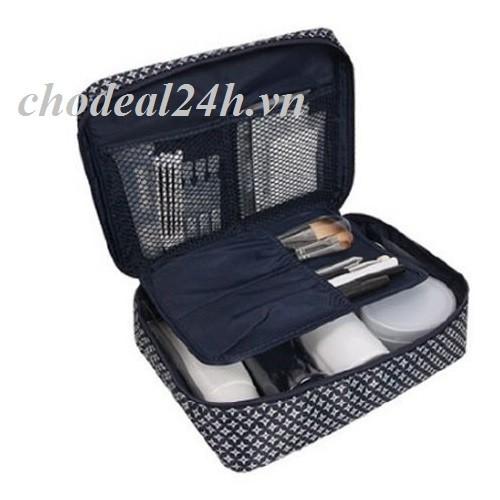 Túi đựng đồ cá nhân đi công tác cho nam mẫu Hoa chữ thập